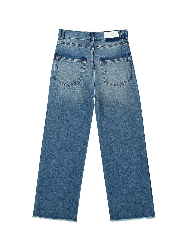 Расклешенные джинсы с высокой посадкой Les Coyotes de Paris