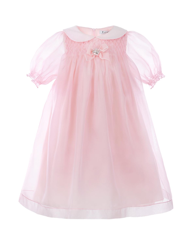 Купить Платье из шелка с декоративным бантом Lesy
