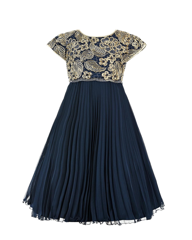 Купить Платье с вышивкой и плиссированной юбкой Lesy