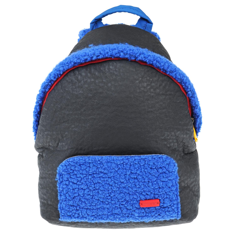 Купить Рюкзак с отделкой из эко меха, #MUMOFSIX