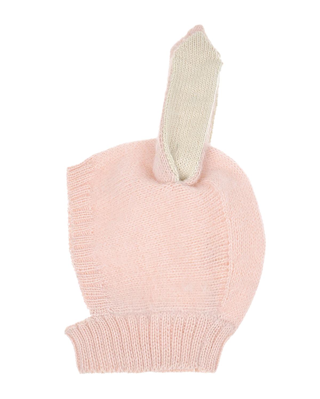 Купить Шапка-шлем из шерсти альпаки с декоративными ушками, Oeuf