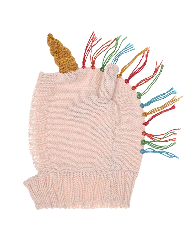 Купить Шапка-шлем из шерсти альпаки с декоративной отделкой, Oeuf
