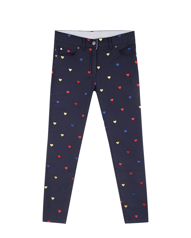 Купить со скидкой Slim fit джинсы с вышивкой Stella McCartney