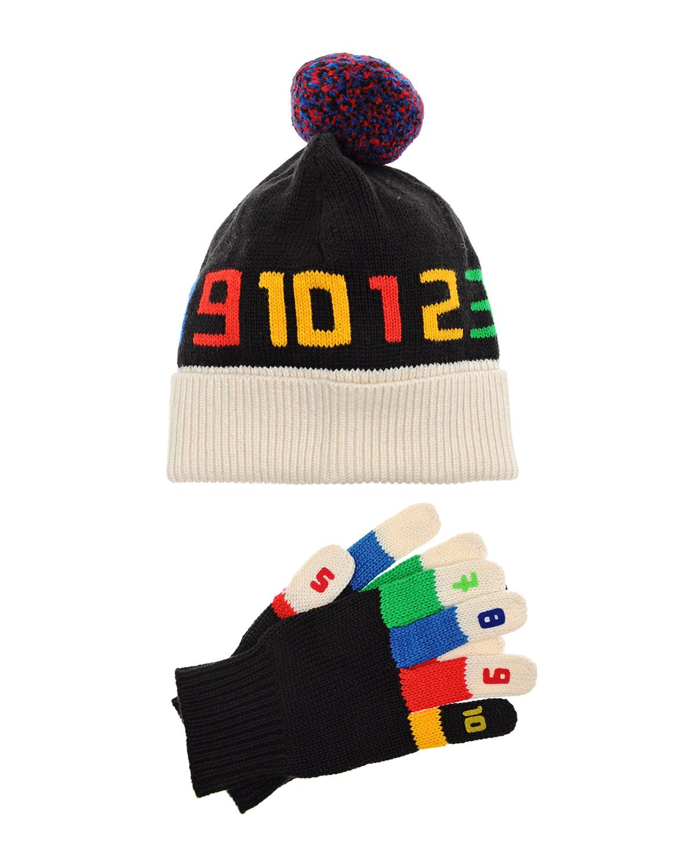 Купить Комплект шапки и перчатки, Stella McCartney