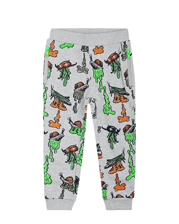 спортивные брюки stella mccartney для мальчика