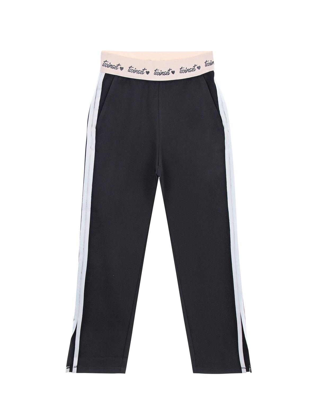 Купить со скидкой Спортивные брюки с боковыми разрезами