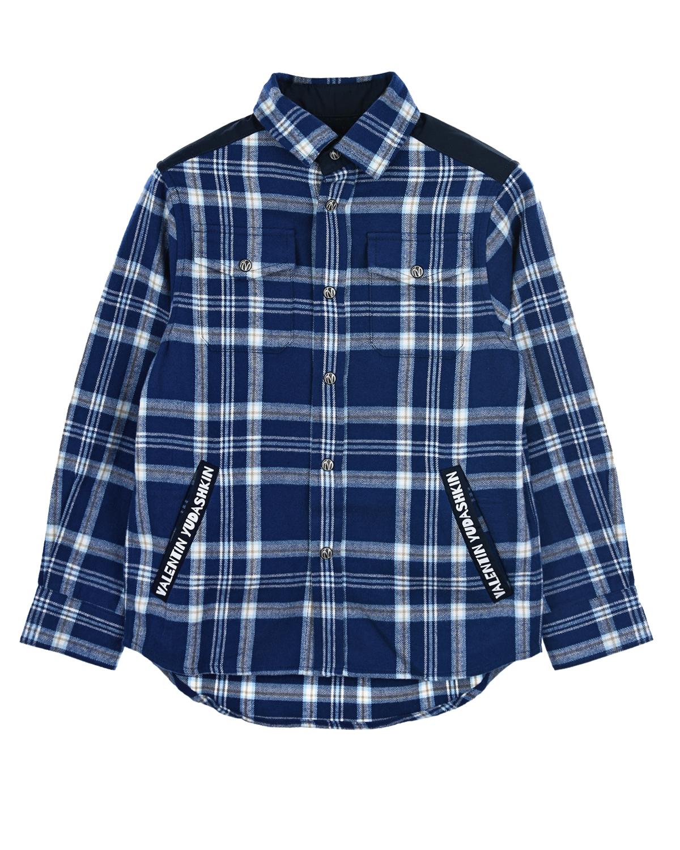 Купить со скидкой Фланелевая рубашка в клетку
