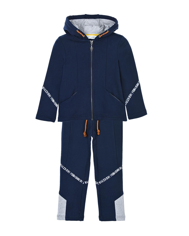 Синий спортивный костюм, Yudashkin Kids  - купить со скидкой