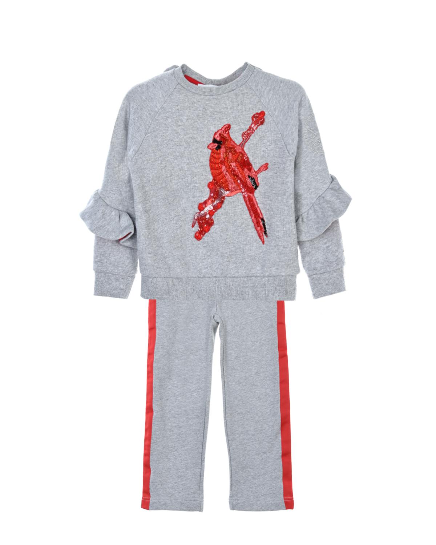 Купить Костюм спортивный с вышивкой пайетками, Yudashkin Kids