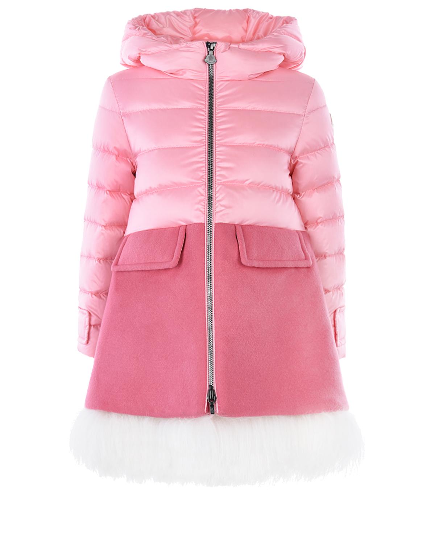пальто moncler для девочки