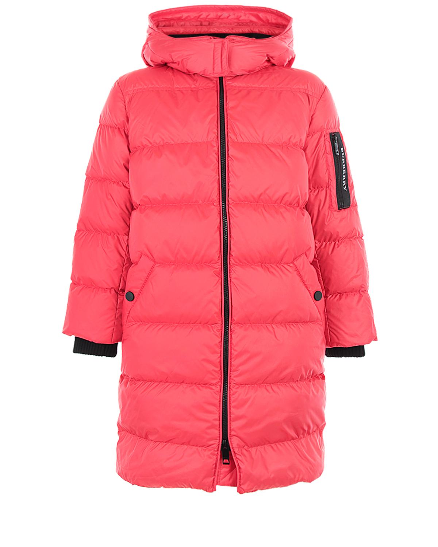 Куртка-пуховик Burberry с капюшоном