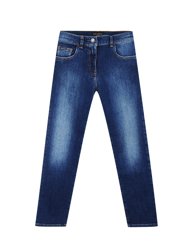 Купить со скидкой Брюки джинсовые Dolce&Gabbana детские