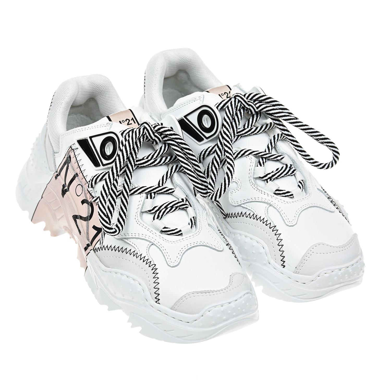 Кожаные кроссовки Billy №21  - купить со скидкой