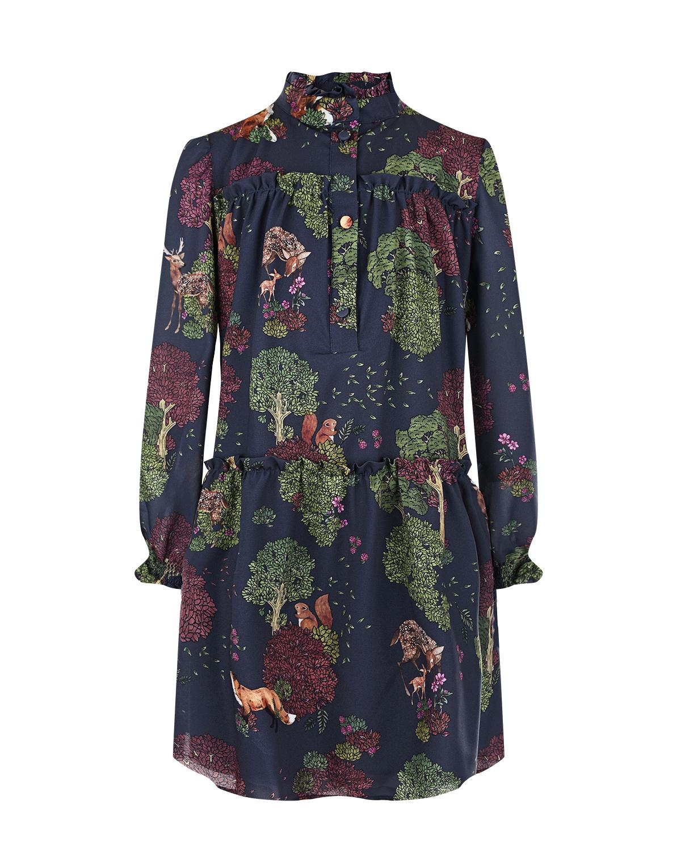 Купить Платье с заниженной талией Alberta Ferretti