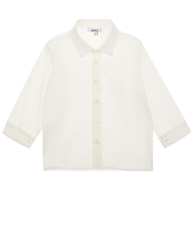 Купить Белая базовая рубашка Aletta