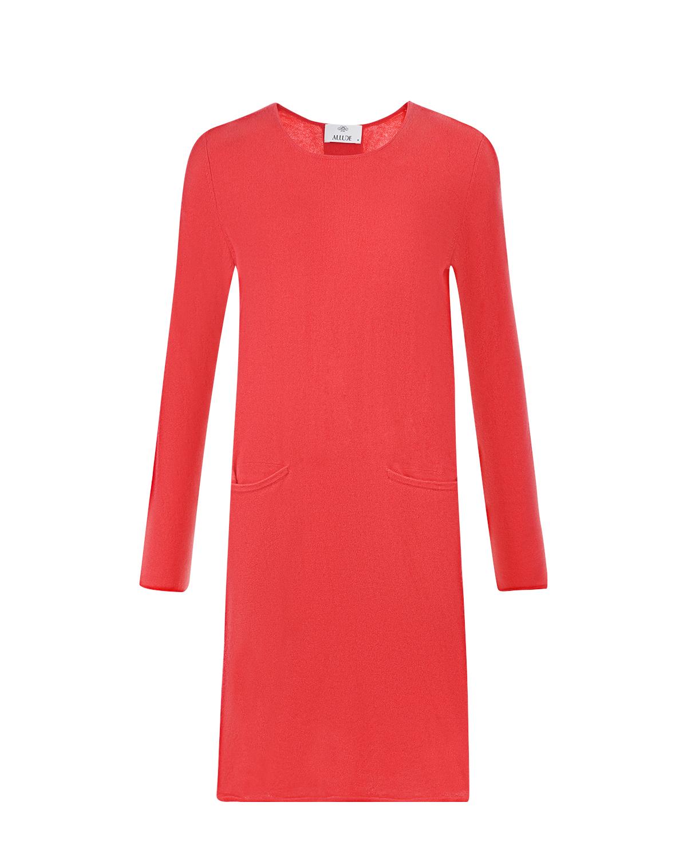 Купить Платье из кашемира свободного кроя Allude, Нет цвета, 100%кашемир