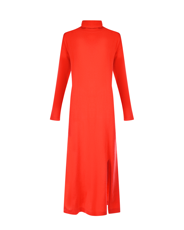 Купить Красное платье из кашемира Allude, Красный, 70%шерсть+30%кашемир
