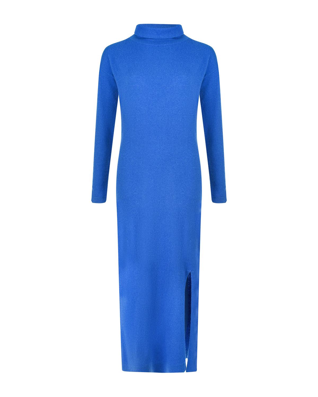 Купить Синее платье из кашемира Allude, Синий, 70%шерсть+30%кашемир