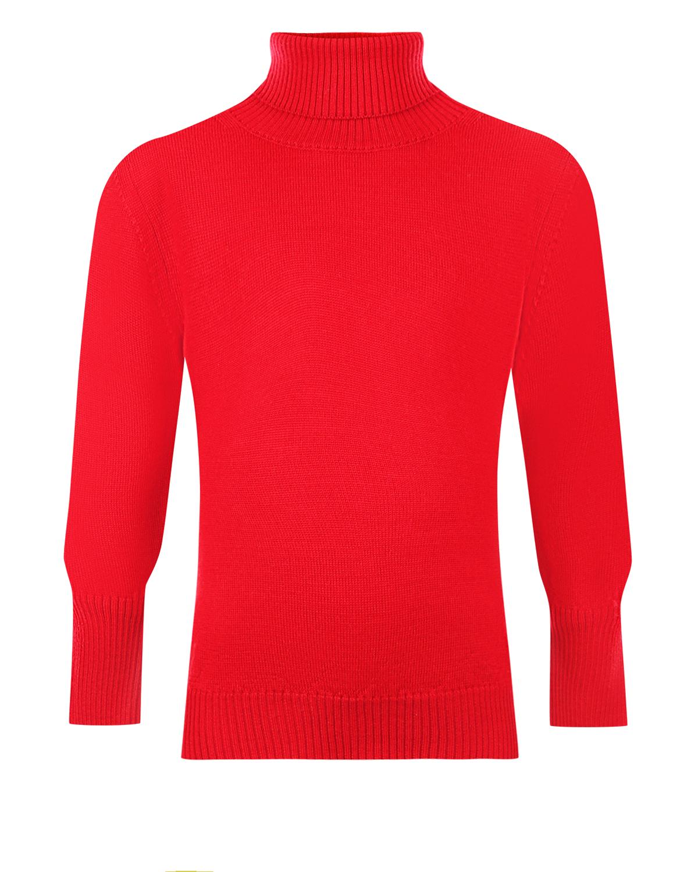 Купить Красная шерстяная водолазка Arc-en-ciel детская, Красный, 100%шерсть
