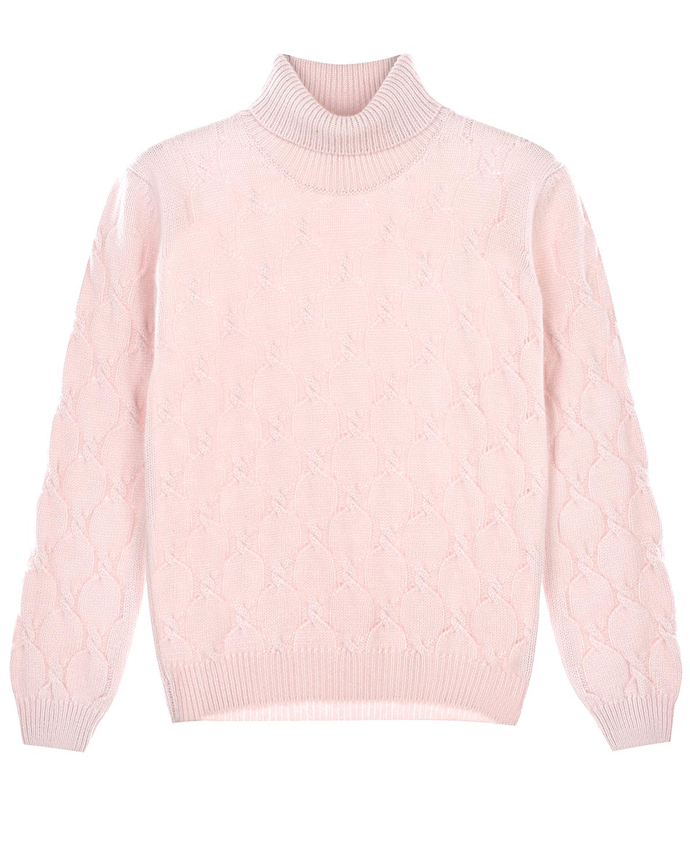Купить Розовый свитер из кашемира Arc-en-ciel детский, Нет цвета, 100%кашемир
