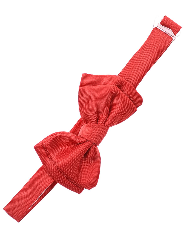 Купить Красный галстук-бабочка Biba детский, 100%полиэстер