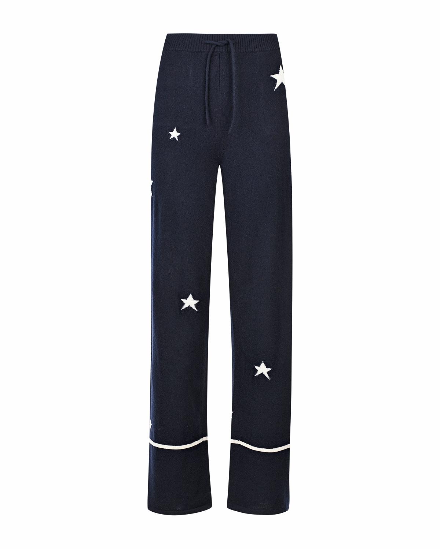 Прямые брюки из кашемира со звездами Chinti&Parker фото
