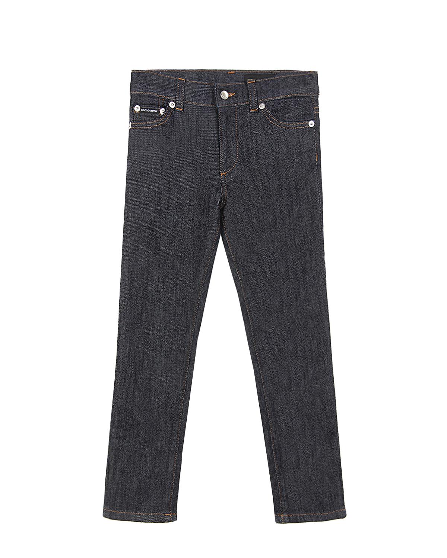Темно-синие базовые джинсы Dolce&Gabbana детское фото
