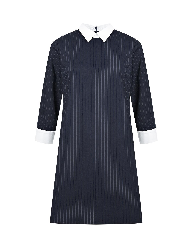 Платье для беременных в тонкую полоску Dan Maralex фото
