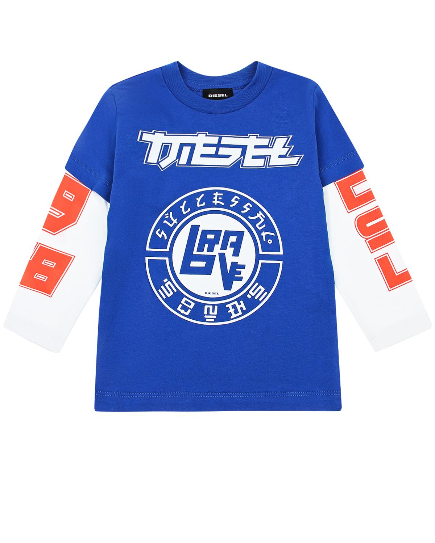 Купить Толстовка с надписями Diesel