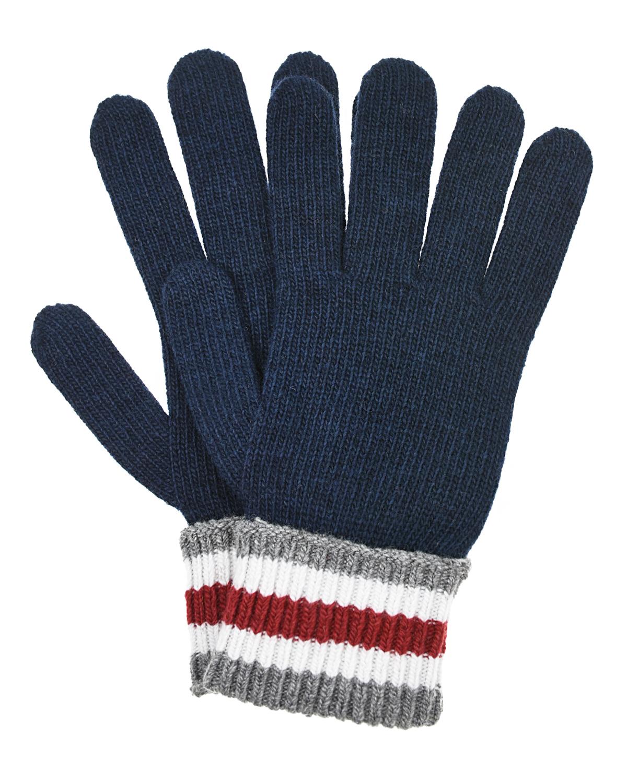 Перчатки с манжетами в полоску Dolce&Gabbana детские фото