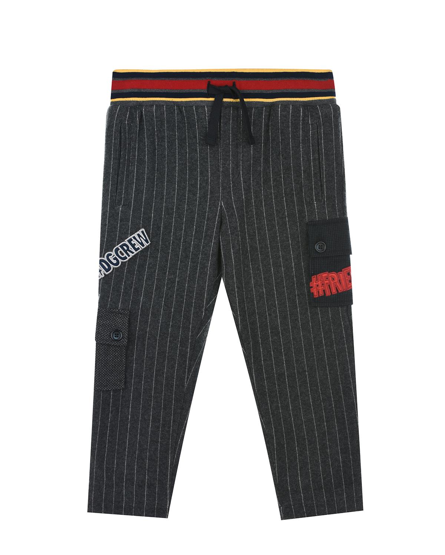 спортивные брюки dolce & gabbana для мальчика
