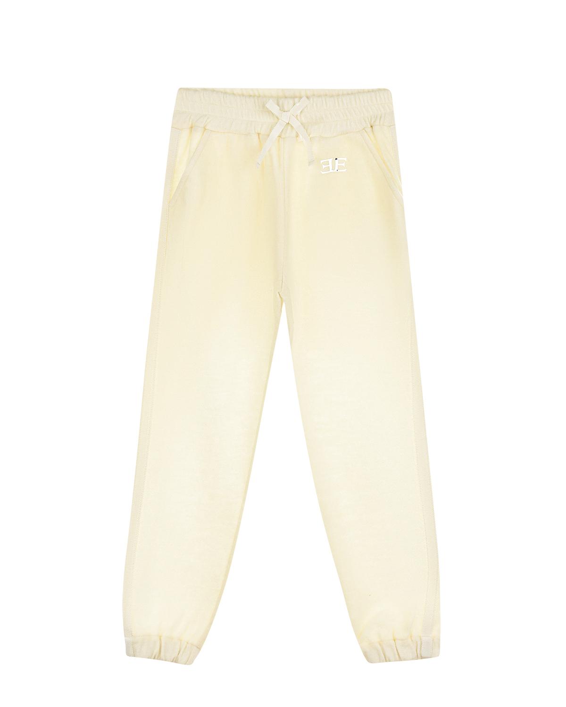 Спортивные брюки из шерсти Ermanno Scervino детские фото