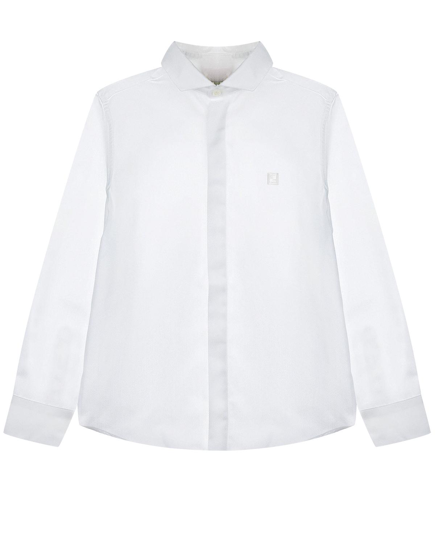 Купить Белая рубашка с длинными рукавами Fendi