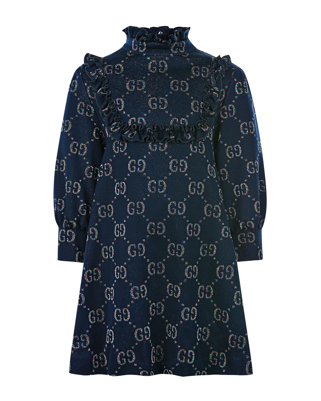 Купить Платье с оборками GUCCI