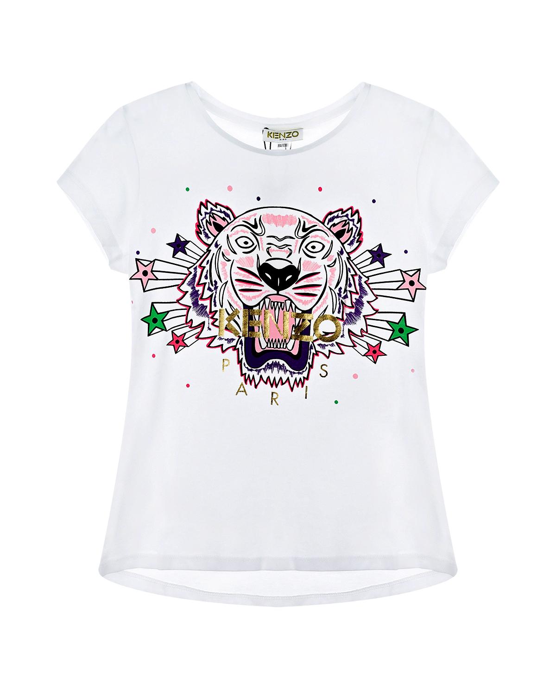 футболка kenzo для девочки