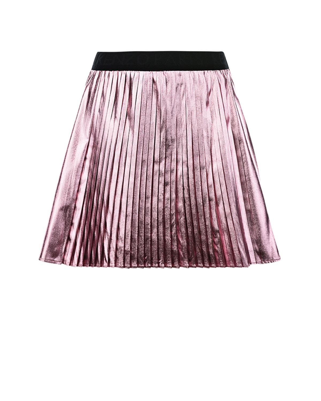 Купить со скидкой Розовая плиссированная юбка KENZO детская