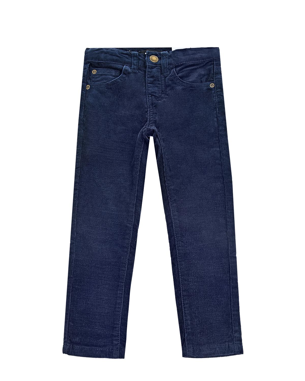 Купить Синие брюки из вельвета Molo детские, Синий, 97%хлопок+3%эластан