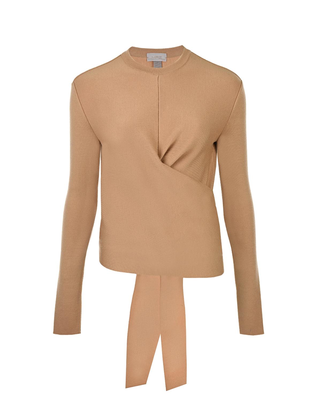 Купить Бежевый блузон из шерсти MRZ