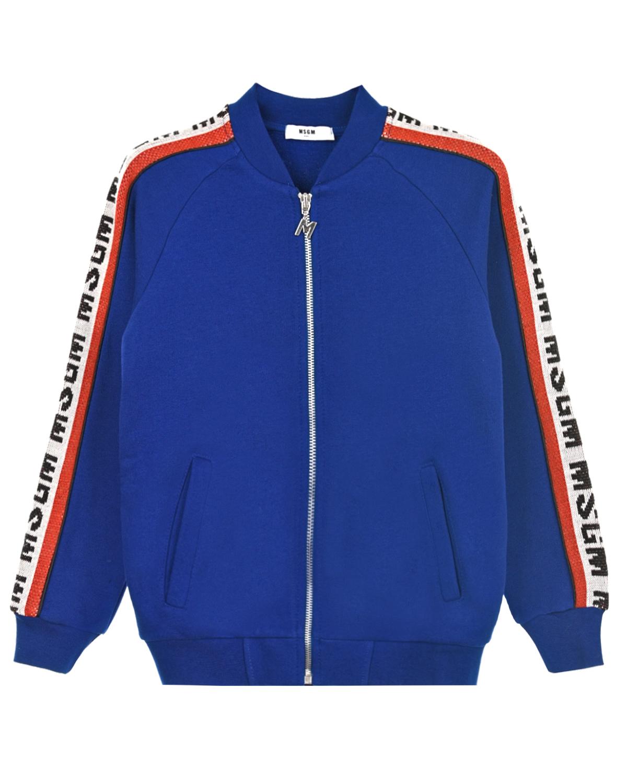 Куртка спортивная MSGM детская фото