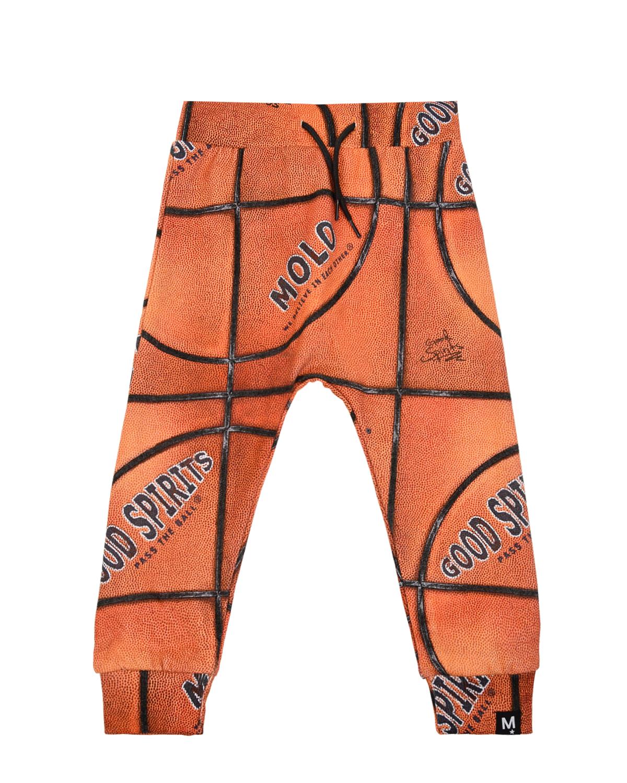 Спортивные брюки Basket Structure Small Molo детские фото