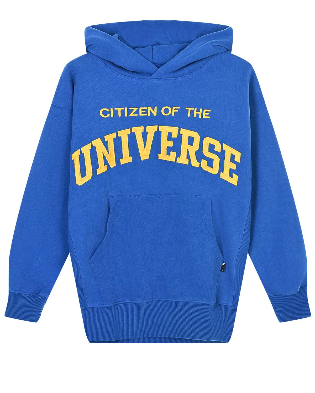 Толстовка-худи с вышивкой Citizen of the Universe Molo детская фото