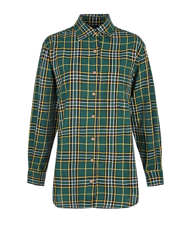 Купить Фланелевая рубашка для беременных в клетку Monamoon