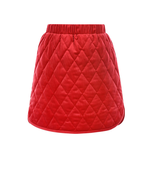 Красная стеганая юбка Paade Mode детская фото