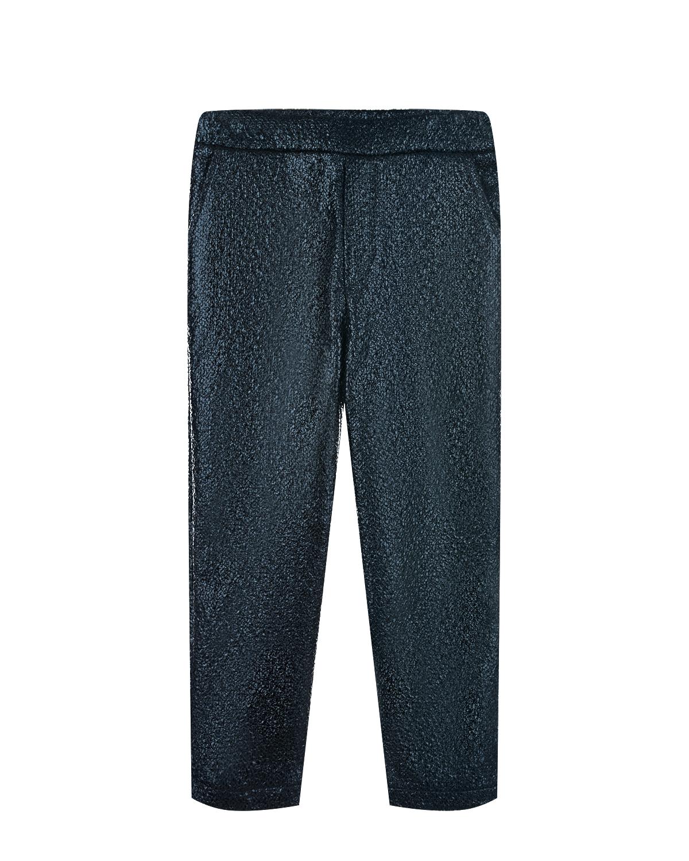 Черные брюки из эко-кожи Paade Mode детские фото