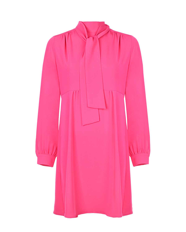 Купить Приталенное платье для беременных цвета фуксии Pietro Brunelli, Розовый, 100%полиэстер