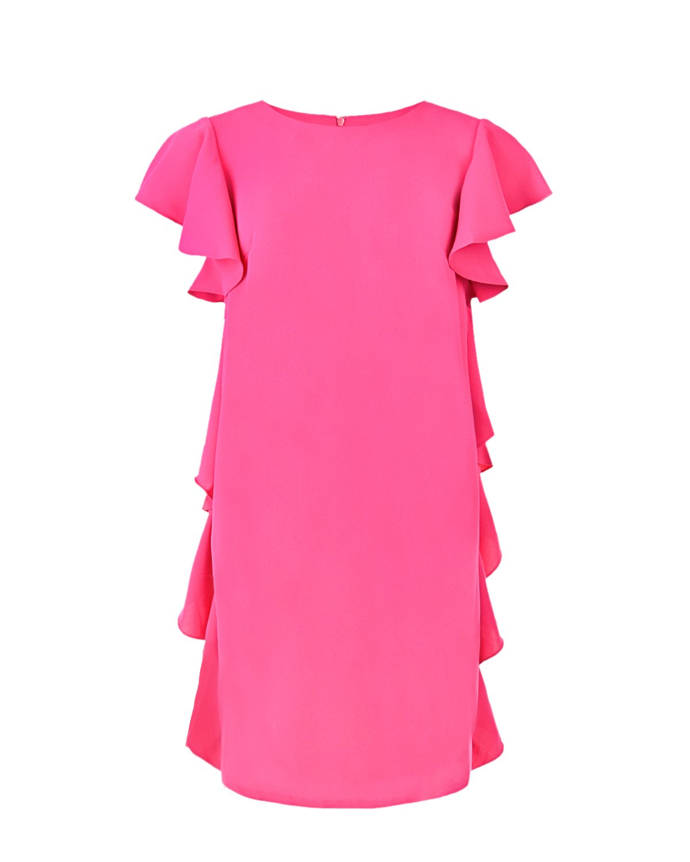 Платье Greta с воланами Pietro Brunelli цвет нет цвета