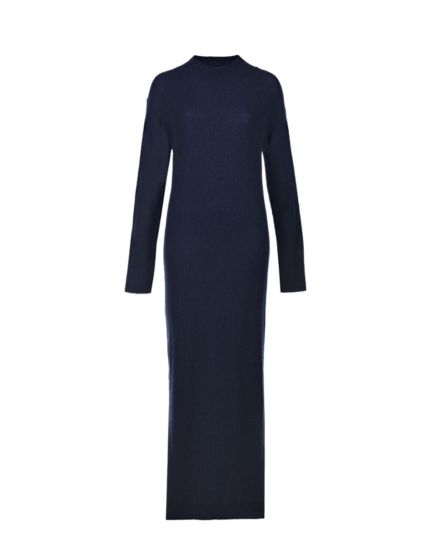 Шерстяное платье-миди для беременных Thuille Pietro Brunelli цвет нет цвета