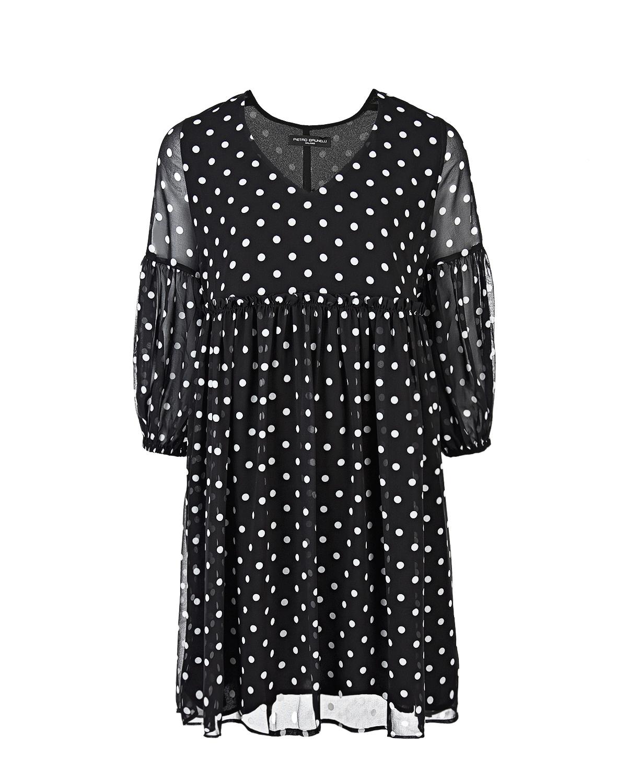 Платье для беременных в горошек Pietro Brunelli фото