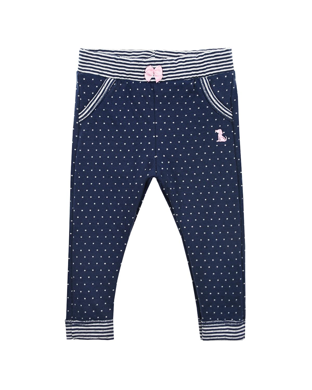Купить Синие брюки в горошек Sanetta fiftyseven