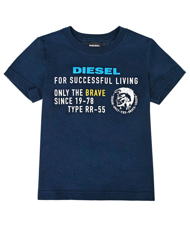 Купить Футболка с принтом Diesel